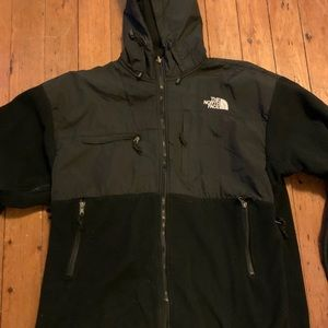 North Face Hooded Zip Up Jacket